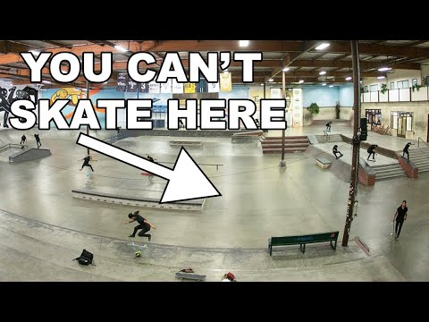 The Most EXCLUSIVE Skateparks In The WORLD!