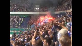 Pyro - Schalke in Duisburg (MSV Duisburg vs. FC Schalke 04 | DFB-Pokal)