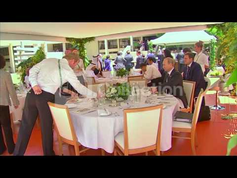 AUSTRALIA: G20 WORKING LUNCH