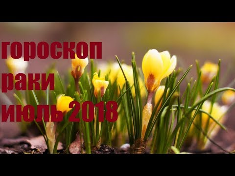 Гороскоп Июль 2018 Раки
