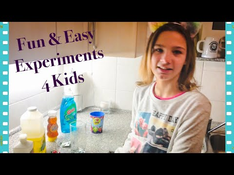 Fun Easy Experiments For Kids!