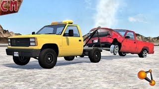 Tow Truck Job in BeamNG Drive