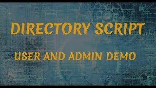 Directory Listing Script | Web Directory Script | PHP Business Directory Script