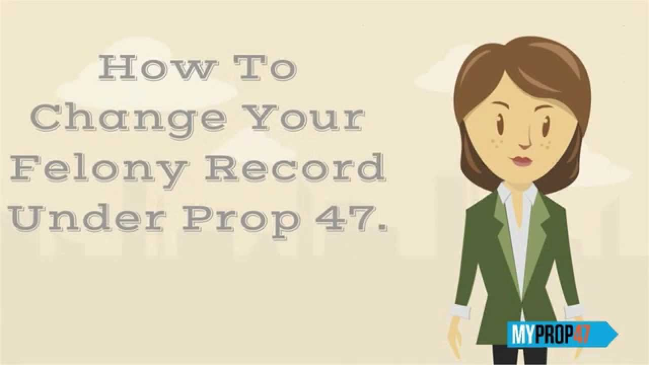How to Remove a Felony From Your Record