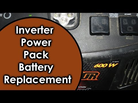 Inverter Power Pack Battery Replacement to Superior Deep Cycle