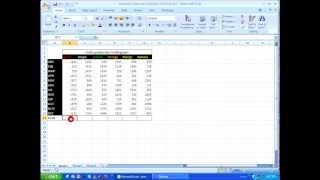 MS Excel - Autosum Keyboard Shortcut Tricks HD