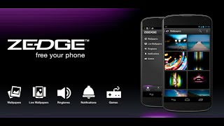 Use Zedge App in any Android Smart Phone