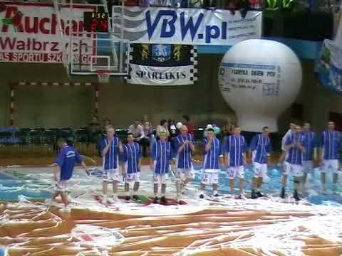 Górnik Wałbrzych vs Sportino Innowrocław / 14 04 2007 / I połowa