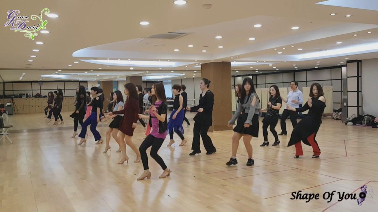 Shape Of You - Line Dance