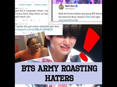 BTS Army ROASTING BTS Haters|| SAVAGE, COOL ARMY