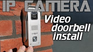 IPcam: Video doorbell install