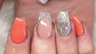 Acrylic nails | all powder design