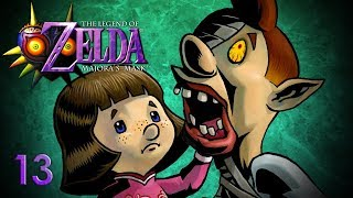 A NIGHTMARE - Let's Play - The Legend of Zelda: Majora's Mask - 13 - Walkthrough Playthrough