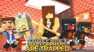 BABY ORPHANS ARE TRAPPED!!! - Minecraft - Little Donny Adventures.