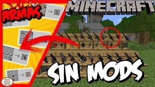 Como Hacer ARMAS DE FUEGO en Minecraft | SIN MODS !!