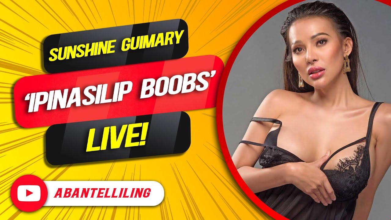 Download Sunshine Guimary 'IPINASILIP BOOBS' live!