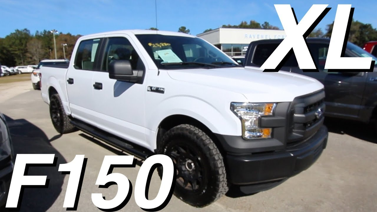 12 FORD F12 XL - Crew Cab Work Truck | Black Alloys & Sporty Tires @  Ravenel Ford - REVIEW | 2015 ford f 150 xl