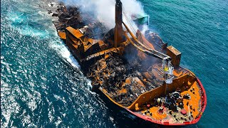 video: Sri Lanka braces for environmental disaster as toxic cargo ship sinks off coast