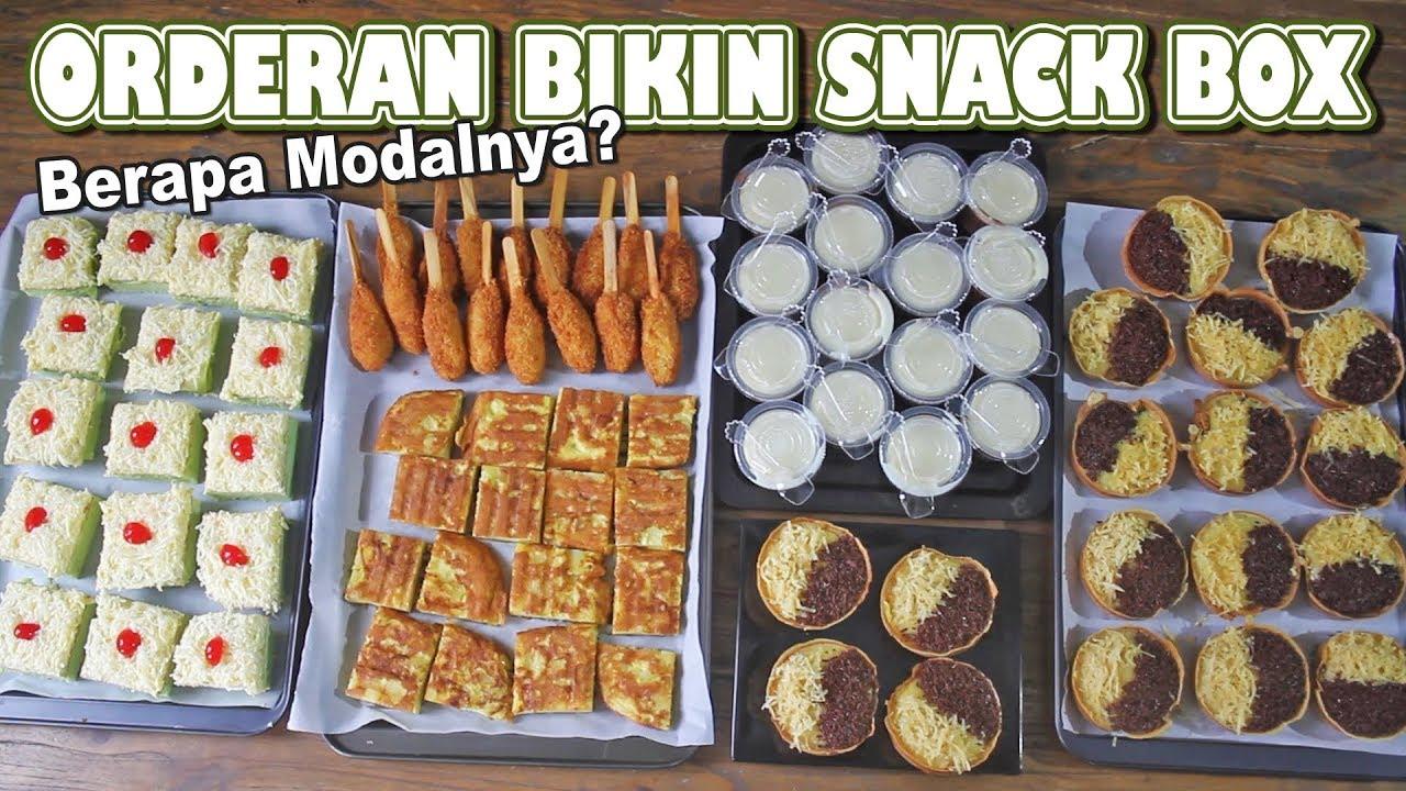 Dapet Orderan Snack Box Youtube