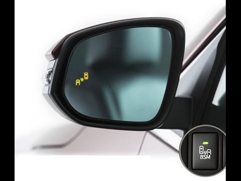 Aftermarket Blind Spot Monitor With Rcta For Toyota Rav4