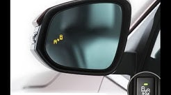 Aftermarket blind spot monitor with RCTA for Toyota RAV4 installation