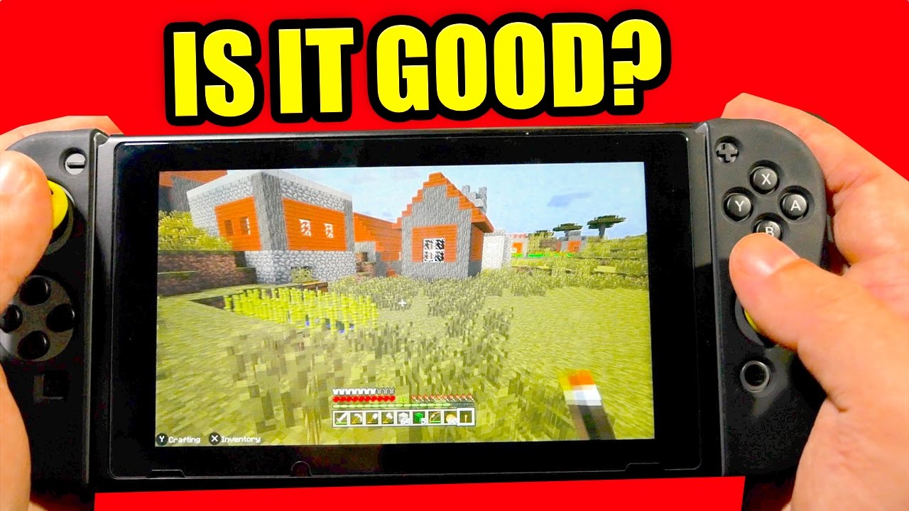 MINECRAFT Nintendo Switch Edition REVIEW IS IT GOOD YouTube - Minecraft spiele switch