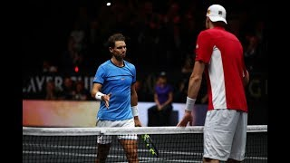 Rafael Nadal vs John Isner - Laver Cup Highlights HD