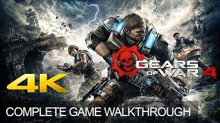 Gears of war 4 complete game walkthrough full story ending 4k 60fps