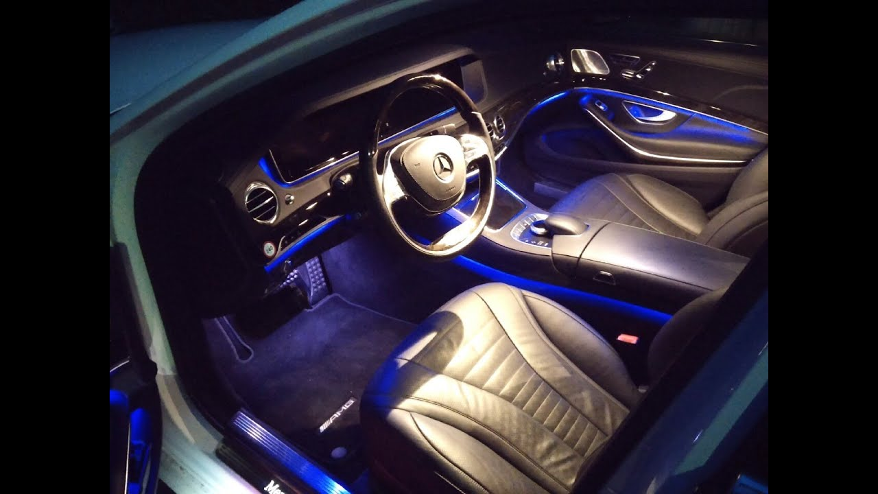 Mercedes s klasse innenraum interieur 2014 amg line youtube Interieur mercedes