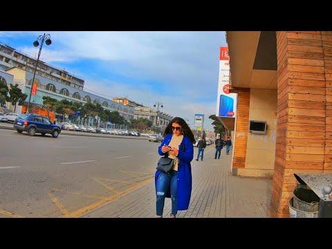 Baku Azarbaijan 🇦🇿 | Walking Tour [4K]