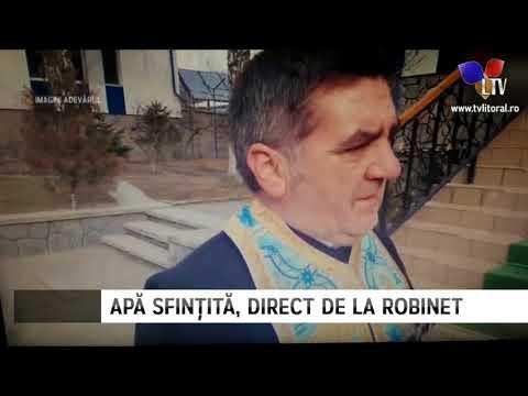 Prahovenii au apă sfințită la robinet - Litoral TV