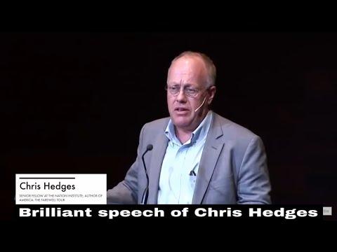 Chris Hedges | Brilliant Speech In 2018