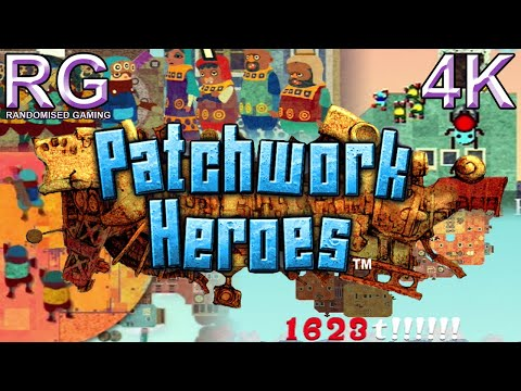 Patchwork Heroes - PlayStation Portable - Intro & Story Missions 1-4  gameplay [UHD 4K]