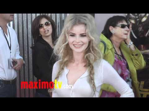 Anita Briem at REAL STEEL Los Angeles Premiere Arrivals