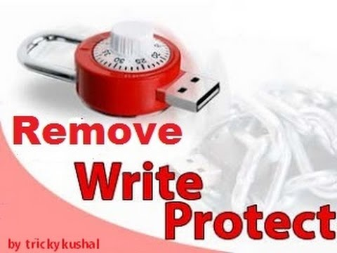 Usb write protection removal tool