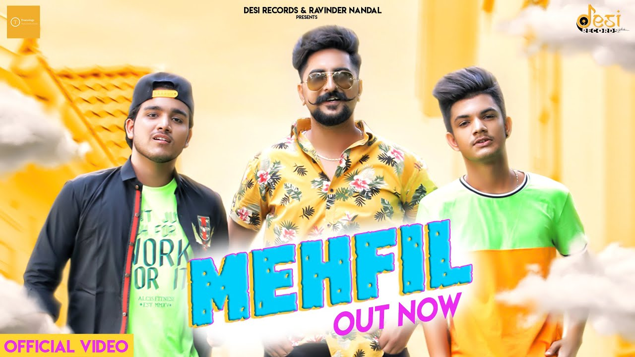 MEHFIL (Official Video) Ft. Filmy, Kay D,  Manni  | New Haryanvi Song 2020 | Friends Reunion