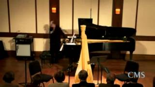 Inside Chamber Music with Bruce Adolphe: Debussy Sonata for Flute, Viola, and Harp