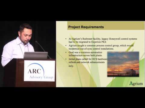 Industrial Cyber Security Risks w/ Agrium Redwater