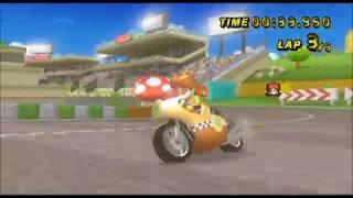 [Mario Kart Wii 300cc TAS] Luigi Circuit 33.950