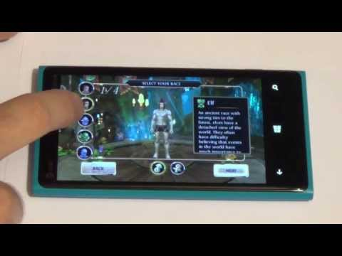 Order & Chaos Online: Windows Phone 8 Review