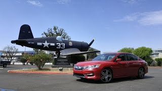 2016 Honda Accord Sport with the 6-speed MT HD Video Review