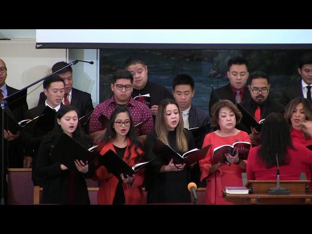 Messiah from The King is Here - Church Choir - Dec. 01, 2018