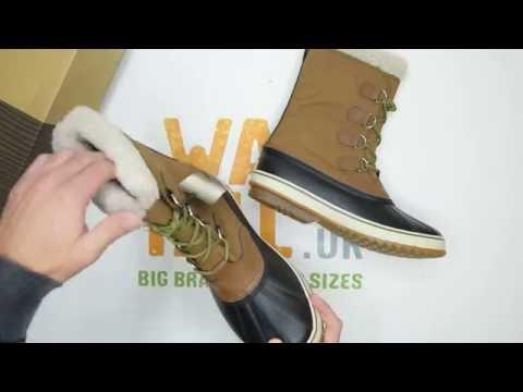 1992e3608a9 Sorel 1964 Pac Nylon - Nutmeg/ Black - Unboxing   Walktall - YouTube