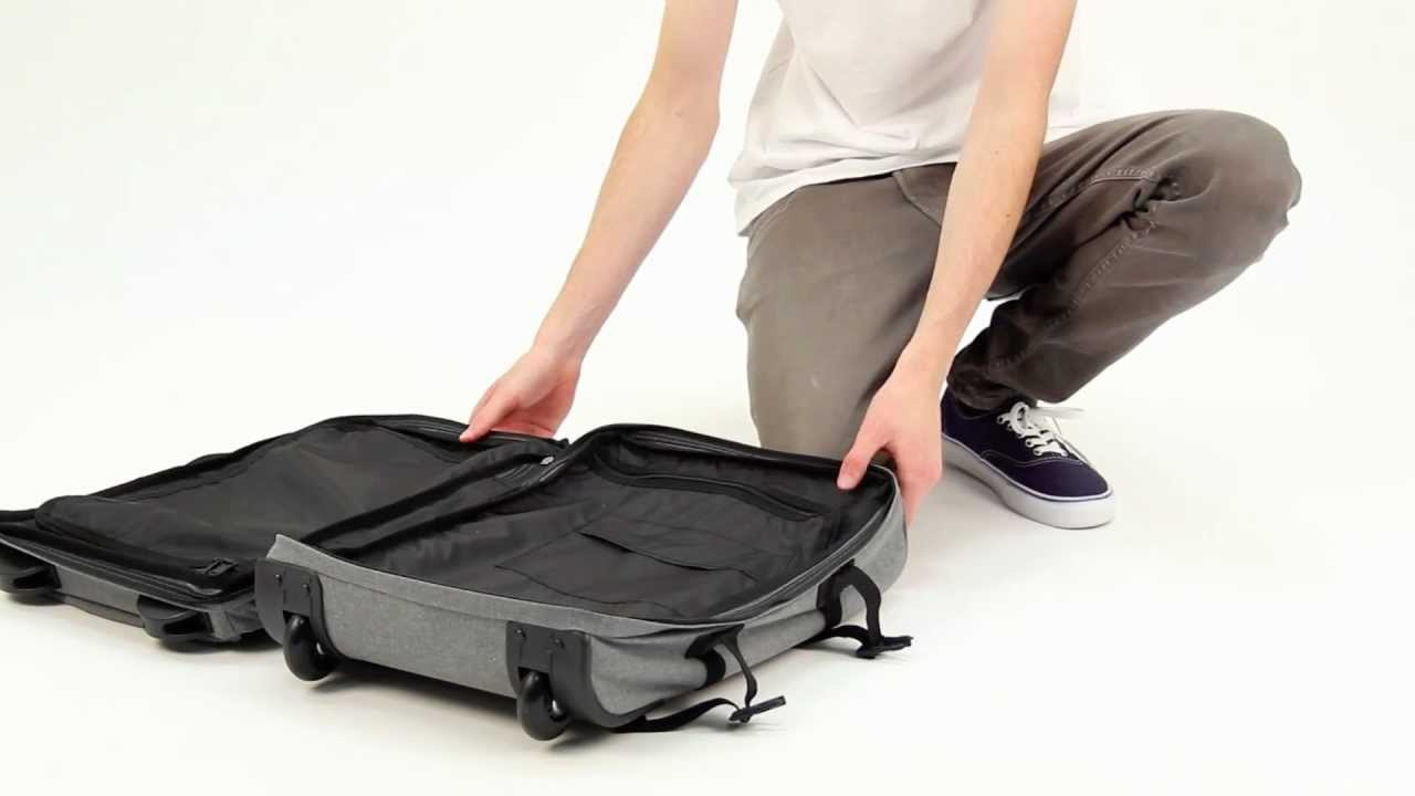 Eastpak Small Transfer Luggage Bag - YouTube