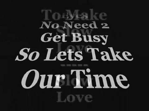 Beyonce- Slow Love Lyrics