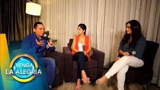 ¡EXCLUSIVA con Edwin Luna y Kim después de su gran boda! | Venga La Alegría