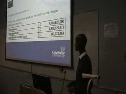 PRESENTATION GROUP 9 MSC OIL & GAS MANAGEMENT COVENTRY UNIVERSITY UK