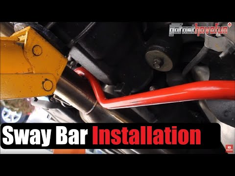 How to Install a Sway Bar and End Links (Nissan 350Z / Infiniti G35) | AnthonyJ350