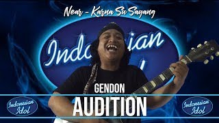 Gendon lolos audisi masuk babak 10 Besar !!!!! | Parody Indonesian Idol