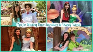How to Meet and Interact with Face Characters at Disney World